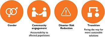 HRP 2016 cross-cutting priorities