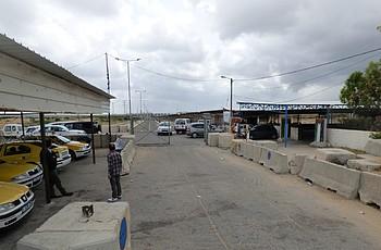 Erez Crossing © Photo by OCHA