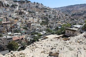 שכונת סילואן, ירושלים המזרחית, 13 באוקטובר 2020, צילום: משרד האו״ם לתיאום עניינים הומניטריים.