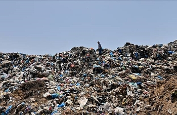Beit Lahia dumpsite, northern Gaza. Photo by UNDP