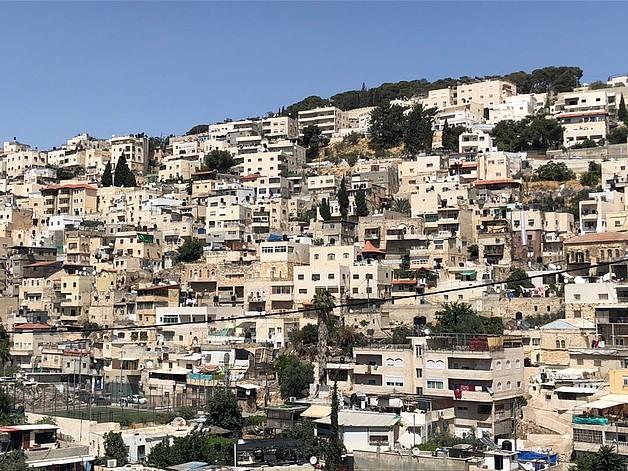 Batan Al Hawa neighbouhood, Silwan, East Jerusalem. © Photo by OCHA