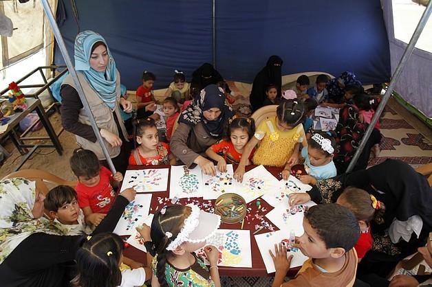© تصوير منظمة الأمم المتحدة للطفولة/اياد البابا