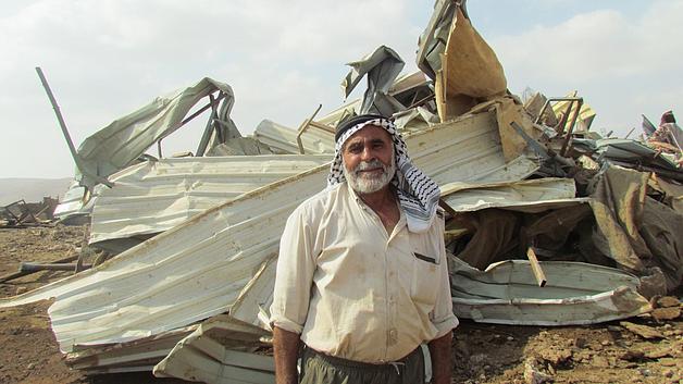 """הרס שמונה מבנים בקהילה הבדואית אל־חדידיה שבבקעת הירדן, ב־11 באוקטובר משרד האו""""ם לתיאום עניינים הומניטריים"""