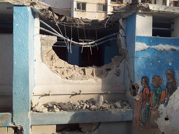School in Jabalia. © UNRWA