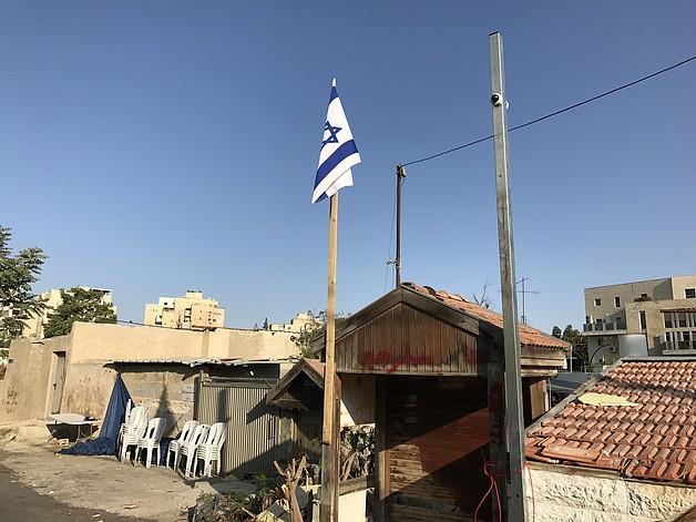 בית משפחת שמאסנה בירושלים המזרחית לאחר הפינוי, 11 באוגוסט 2017 / © צילום: משרד האו״ם לתיאום עניינים הומניטריים