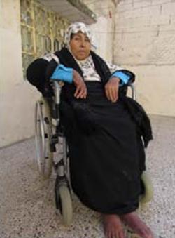 Khadra, a mother of seven from al Fawwar