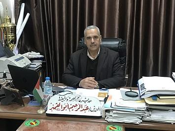 المهندس عبد الرحيم أبو القمبز، مدير مديرية الصحة والبيئة في بلدية غزة