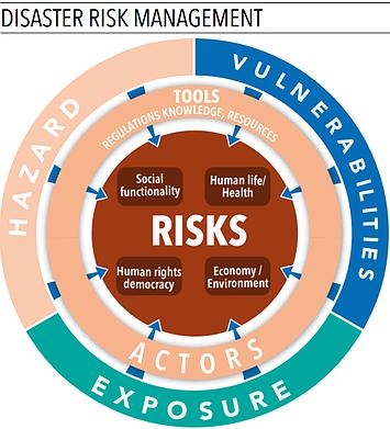 Chart: disaster risk management