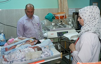 Shohada Al Aqsa hospital, Gaza. Photo by OCHA