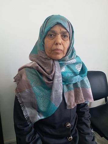 Salma, from Gaza, has Hodgkin lymphoma. Photo by WHO