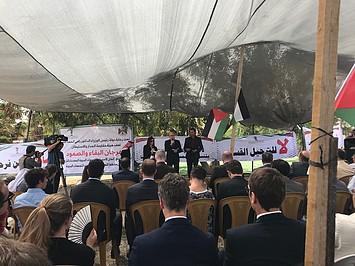 Khan al Ahmar, 18 April 2018