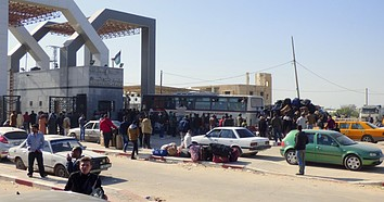 Rafah crossing. February 2016. © Photo by OCHA