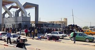 Rafah crossing. February 2016. © Photo by OCHA