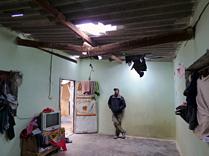 The Abu Koussa family home in Gaza