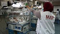 Ash Shifa Hospital. Gaza. Photo by MAP