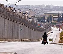 The Barrier in Ar Ram, Jerusalem. Photo by JC Tordai
