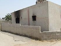 منزل عائلة دوابشة، استهدفه حريق متعمد. صورة بواسطة مكتب تنسيق الشؤون الإنسانية