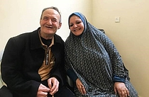 Rafiq and Siham Farahat. Photo by Sami Alhaw/OXFAM 2020