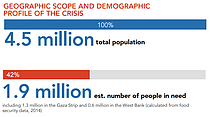 HNO 2015 - Geographic scope and demographic profile of the crisis