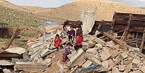 منزل مهدوم في تجمّع الجفتلك (أريحا)، شباط/فبراير 2016  © - تصوير مكتب الأمم المتحدة لتنسيق الشؤون الإنسانية