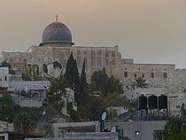 A view from Silwan on Al Aqsa Compound, East Jerusalem