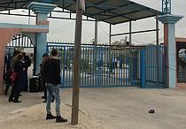 'Arba 'Arba checkpoint in northern Gaza, 30 March 2017