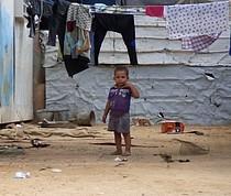 אתר הקרוואנים בבית חנון, אוקטובר 2016 / © צילום: משרד האו״ם לתיאום עניינים הומניטריים.