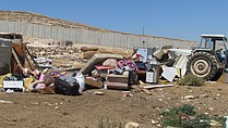 Demolition in North 'Anata, July 2016 © Photo by OCHA