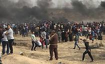 غزة, 20 أبريل/نيسان 2018