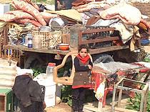 عملية هدم ضخمة في الفارسية، غور الأردن، 11 شباط/فبراير 2016. تصوير مكتب تنسيق الشؤون الإنسانية