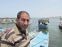 Abdallah al 'Abasi, 53 years old, fisherman, Gaza, June 2013. ©  Photo by OCHA.