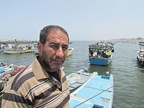 Abdallah al 'Abasi, 53 years old, fisherman, Gaza, June 2013. ©  Photo by OCHA.
