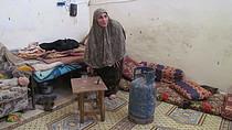 עביר א־נמנם, מחנה הפליטים א־שאטי, עזה, אפריל 2014. תצלום: משרד האו״ם לתיאום עניינים הומניטריים