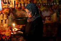 תצלום ארכיון: הפסקת חשמל במחנה הפליטים א־שאטי, 2014. תצלום: ויסאם נסאר