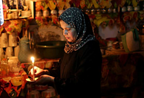 Archive picture: Power cut in Ash Shati refugee camp, 2014. Photo by Wisam Nassar