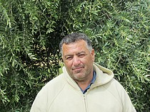 Tayseer 'Amarneh, farmer, Akkaba, Tulkarm, February, 2014. ©  Photo by OCHA.