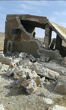 منزل دُمر في شهر تشرين الأول/أكتوبر 2017، الدوة  © - تصوير مكتب تنسيق الشؤون الإنسانية