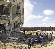 Rafah, May 2004. Photo by OCHA