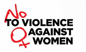 """Archive poster: """"No to violence against women"""" (2011)"""
