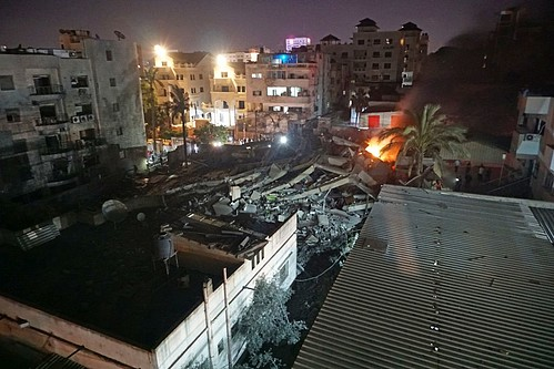 Building destroyed on 5 May 2019, Gaza City. ©  Photo by OCHA