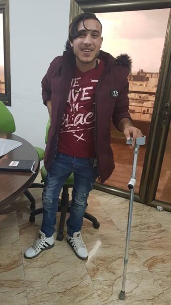 Ibrahim*, Gaza