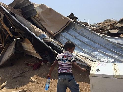 Ma'azi Jaba Bedouin community, 29 August 2016