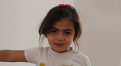 Suhad's daughter, Muluk (4 years old)