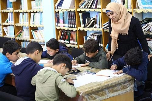 UNRWA New Gaza Elementary Co-Ed school © 2020 UNRWA. Photo by Khalil Adwan