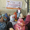 Workshop in the context of GBV organized by local NGO in Gaza in 2017. © Photo by OCHA
