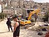 הריסת בניין בן ארבע קומות באל־עיסוויה, ירושלים המזרחית, 11 ביולי 2017. תצלום: משרד האו״ם לתיאום עניינים הומניטריים